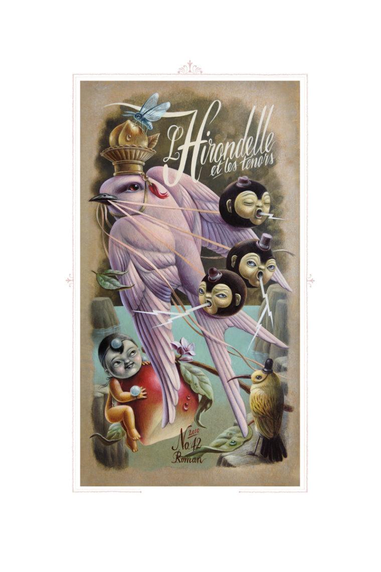 L'HIRONDELLE / fine art giclée print